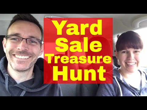 Yard Sale Trail - Treasure hunting in the wild - for Reselling on ebay