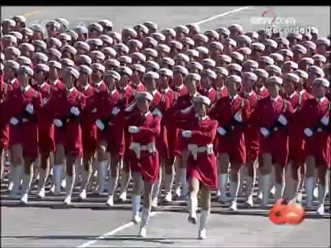 [English version] Chinas 60th National Day Military Parade - 1. Troop Formation 2/2