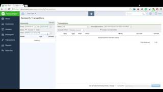 QuickBooks - How to use the Reclassify Feature under the Accountant Menu
