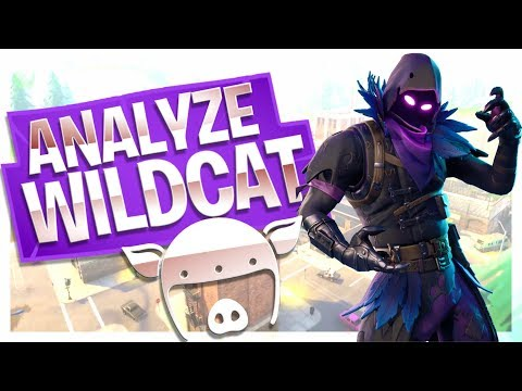 Analyze I AM WILDCAT in Fortnite! - How good does he do?