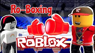 Amaya Challenged Me to A Fight | Roblox RoBoxing