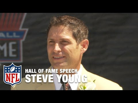 Steve Young Gratifying Hall of Fame Speech | NFL Network