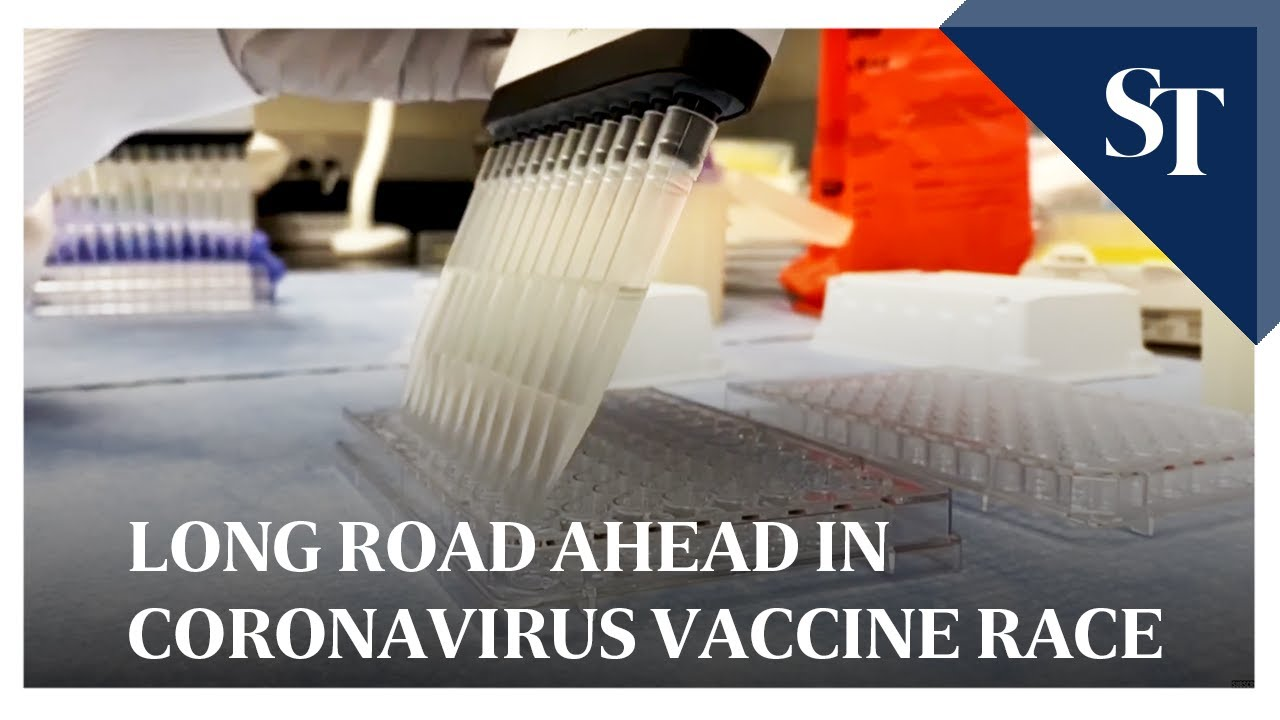 Drugmakers see long road ahead in coronavirus vaccine race The Straits TImes