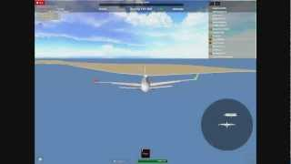 Flight 2012 ™ on ROBLOX : The first cross-Atlantic haul