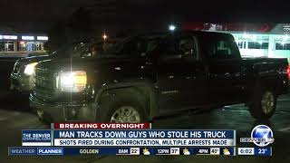 Denver man uses OnStar app to track stolen truck, chase down suspects