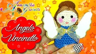 Tutorial Angelo di Natale all'Uncinetto | Angelo Amigurumi | How to crochet a Christmas Angel