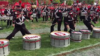 Ohio State Marching Band Percussion Drumline Mashup 10/7/17 TBDBITL OSUMB thumbnail