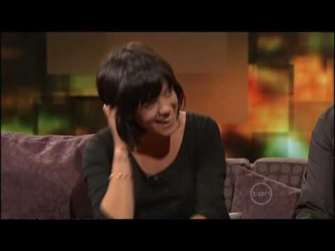 Lily Allen & Ross Noble on the ROVE couch (Australia)