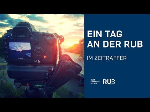 Timelapse: Ein Tag an der Ruhr-Universität Bochum