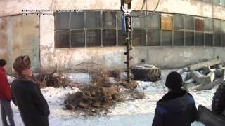 Шнековый бур (Италия) Ф 450 Тюмень февраль
