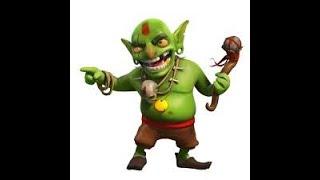 Clash of clans 2x goblin village