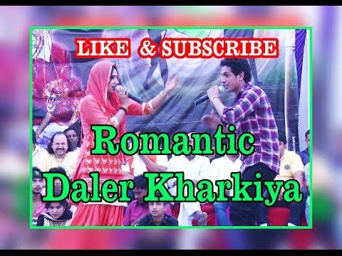 Romantic  Daler Kharkiya    Meri Chuthi Ke Din   Ragni Program Daryapur