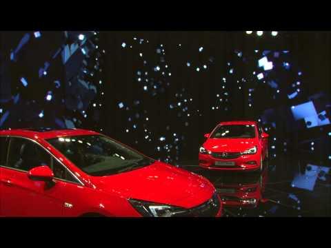 New Astra World Premiere I IAA 2015  Press Conference I Opel