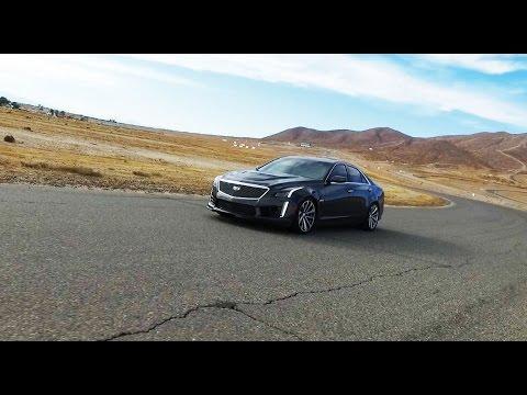 2017 Cadillac CTS V волк в модном свитере