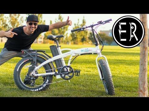 TORQUEY FOLDING ELECTRIC BIKE Can Climb ANY HILL: Eccobike Chamaleon