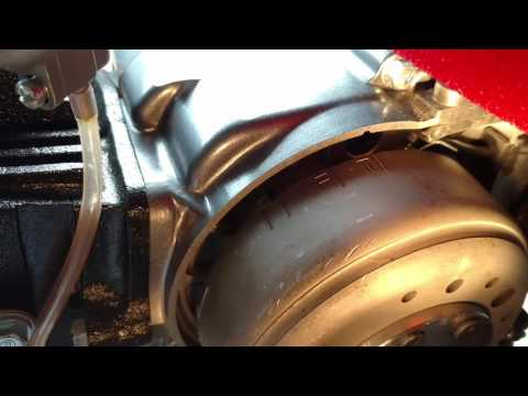 New Lifan 140cc timing off