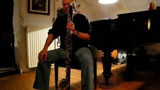 Jan Cremers Basklarinet op Pindaconcert mei 2010