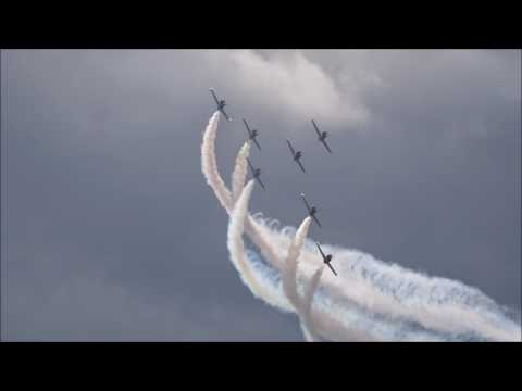 The Breitling Jet Team display from Thunder Over Michigan
