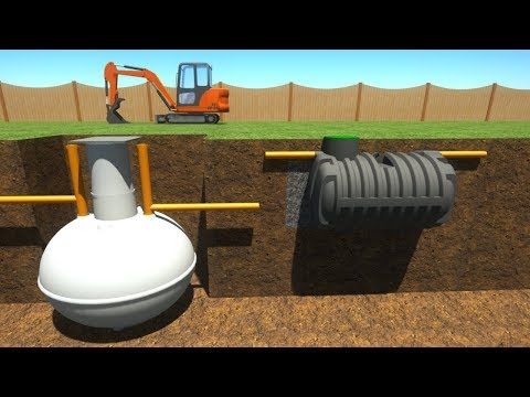 Klargester Septic Tank - YouTube