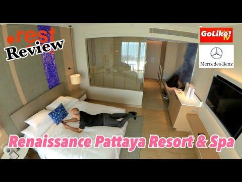 เปิดห้อง RENAISSANCE PATTAYA RESORT & SPA แบบ Deluxe Balcony Seaview : GoLike! ไปที่ชอบ! TV