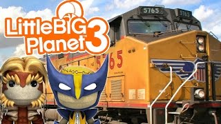 RUNAWAY TRAIN! | Little Big Planet 3 Multiplayer (48)