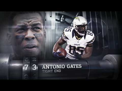 #73 Antonio Gates (TE, Chargers) | Top 100 Players of 2013 | NFL