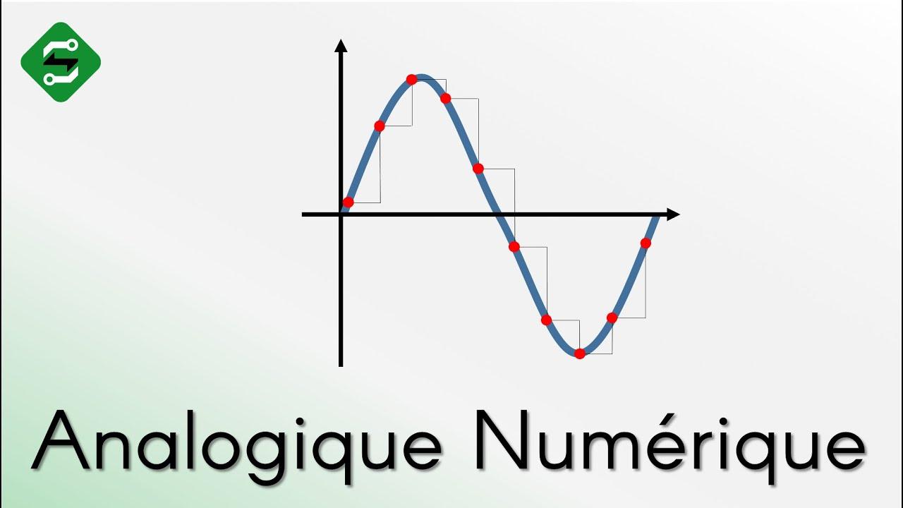 La diff rence entre analogique numerique silis electronique youtube - Difference entre encastrable et integrable ...