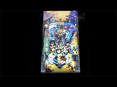 Wolverine Gameplay | Arcade1Up Marvel Pinball from Original Console Gamer