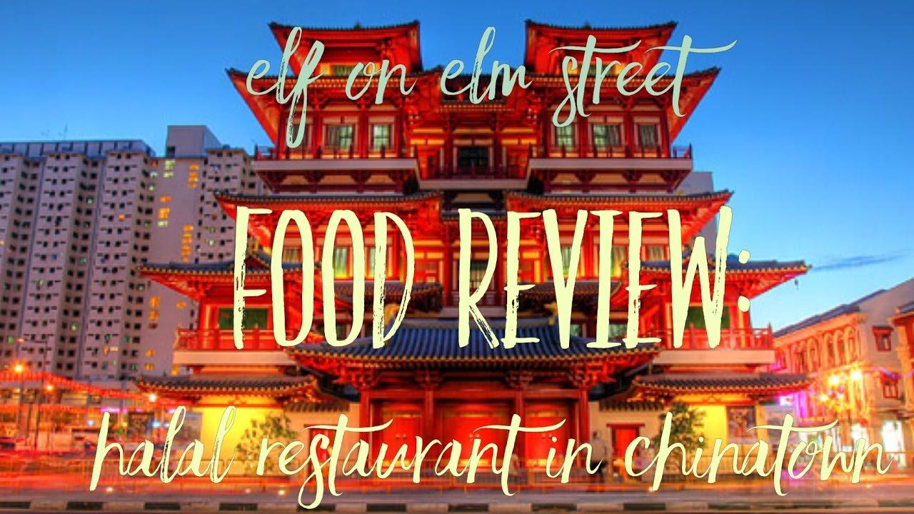 Halal Food In Chinatown Segar Restaurant Youtube