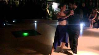 Nikos Kantartzopoulos & Margarita Riga, Bari Tango Congress Opening Milonga, Santa Milonguita
