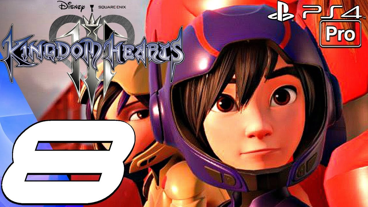 Kingdom Hearts 3 Gameplay Walkthrough Part 8 Big Hero 6 World Aqua Boss Full Game Ps4 Pro Youtube