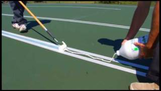 SportMaster Sport Surfaces - Tennis Court Striping