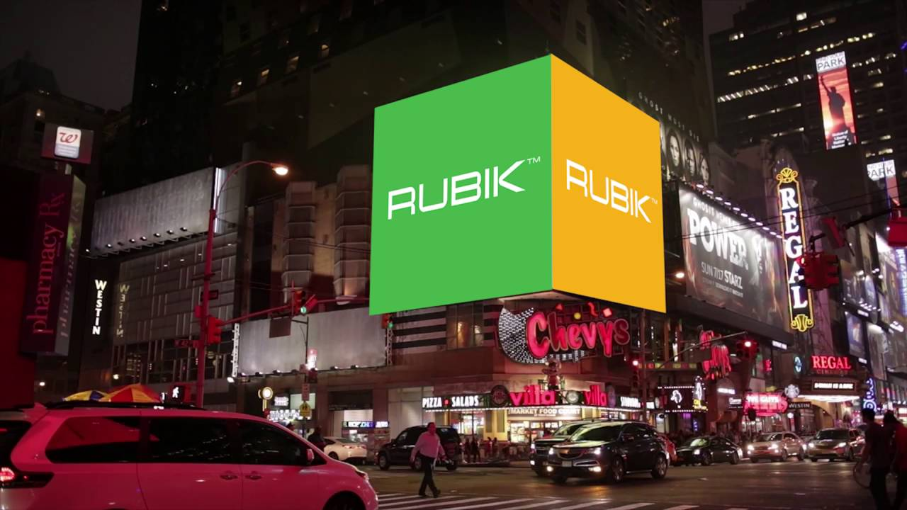 Rubik Commercial Lighting's 2016 NY Times Square Debut