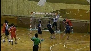 20191222福岡県高校新人ハンドボール男子決勝 博多vs九州産業(後半)