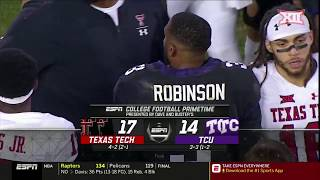 Texas Tech vs TCU Football Highlights