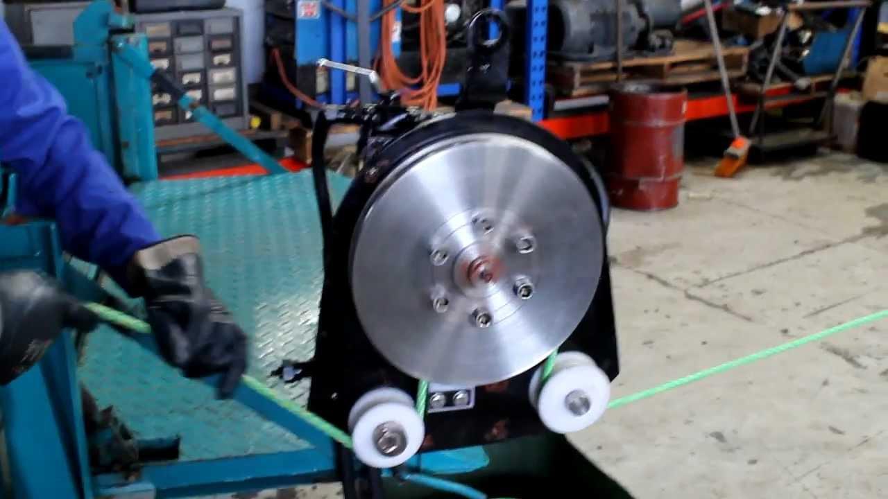 Hydraulic Line Puller : Hauler plates hydraulic