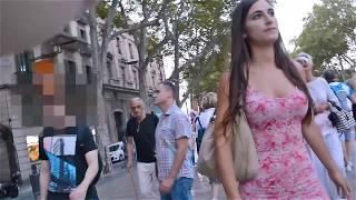 Una chica, un vestido y Barcelona