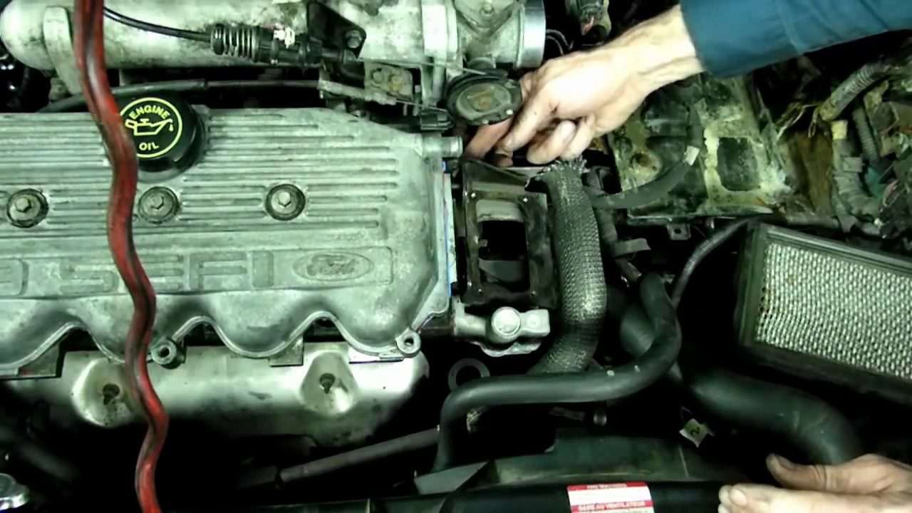 hight resolution of ford 1 9l thermostat replacement