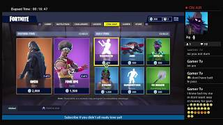 Fortnite *NEW* road trip skin hype !! (SUB GOAL 300 !!!!) (YOUTUBE STREAMER) FORTNITE BATTLE-ROYALE