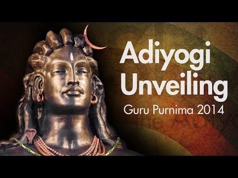 Sadhguru Unveils Image of Adiyogi