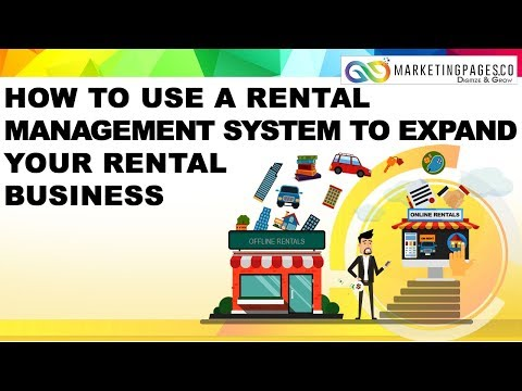 How to use a Rental Management System to expand your Rental Business