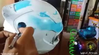 Airbrush Helm Hadiah Motor thumbnail