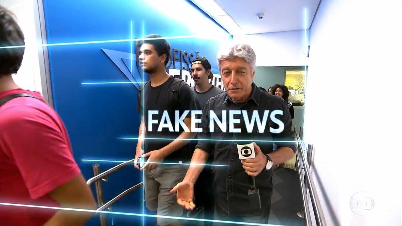Resultado de imagem para fake news profissão reporter