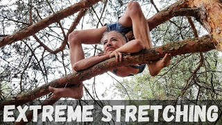 Extreme Stretching. Contortion.