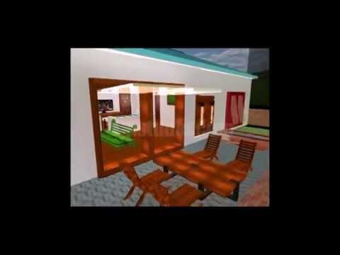 Animasi & Modeling 3D Rumah