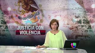 Repeat youtube video Toman la justicia por mano propia en un estado al sur de México - Noticiero Univision