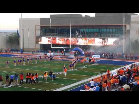 Bishop Gorman Football 2015 Entrance vs Chandler Arizona