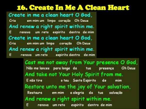 create in me a clean heart pdf