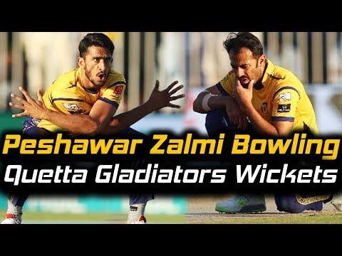 Peshawar Zalmi Best Bowling Ever in PSL | Peshawar Zalmi Won by 1 Run | HBL PSL 2018
