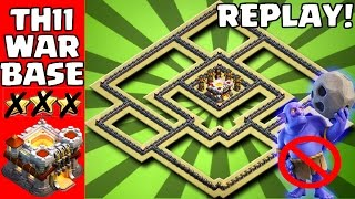 ANTI 2 STAR |NEW TH11 WAR BASE 2017 | ANTI LALOON /ANTI BOWLERS/REPLAY PROOF/COC